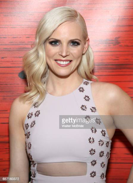 Katie Rose Clarke attends The Opening Night After Party for the New Broadway Production of 'Miss Saigon' at Tavern on the Green on March 23 2017 in...