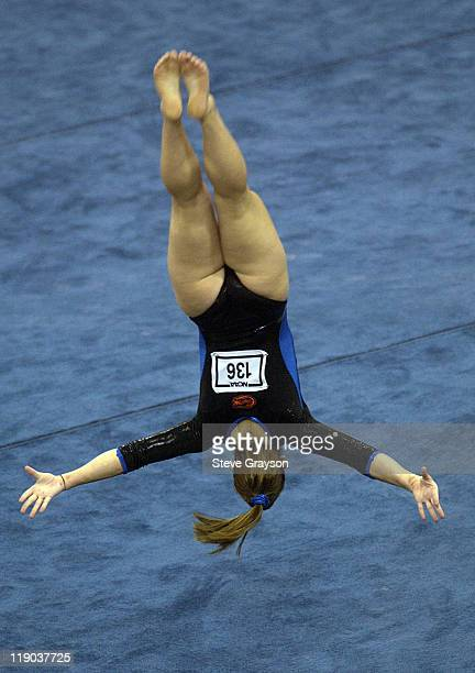 Katie Rue of Florida in action during the 2004 NCAA Championship Team Finals at Pauley Pavilion in Westwood California April 16