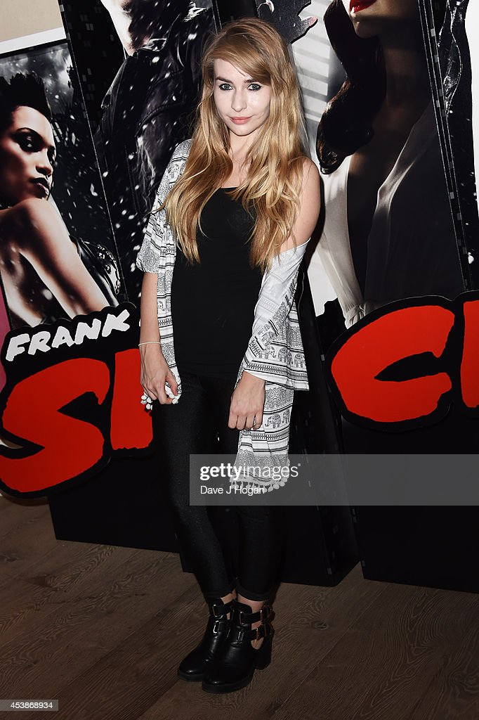 Katie Snooks attends a VIP screening of 'Sin City 2' at Ham Yard Hotel on August 20, 2014 in London, England.