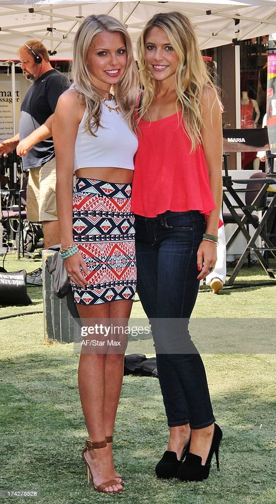 Katie Tardif and Jackie Lyons as seen on July 22, 2013 in Los Angeles, California.