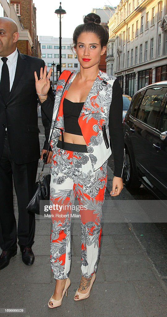 Katie Waissel attending the Retro Feasts launch party on June 5, 2013 in London, England.