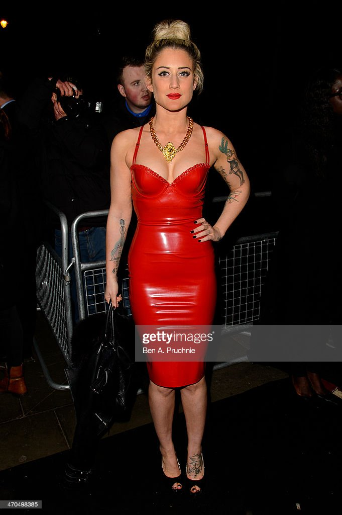Celebrities Wearing Latex 10
