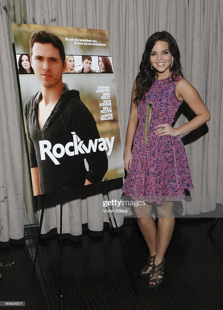 Katie Wallace attends Rock Way Fundraiser at Beso on March 23, 2013 in Hollywood, California.