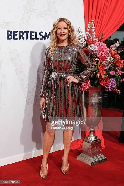 Katja Burkard attends the Bertelsmann Summer Party at the Bertelsmann representative office on September 10 2014 in Berlin Germany