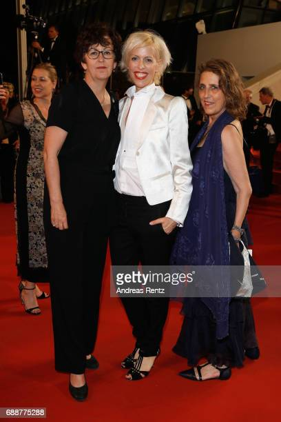 Katja Eichinger and attend the 'In The Fade ' screening during the 70th annual Cannes Film Festival at Palais des Festivals on May 26 2017 in Cannes...