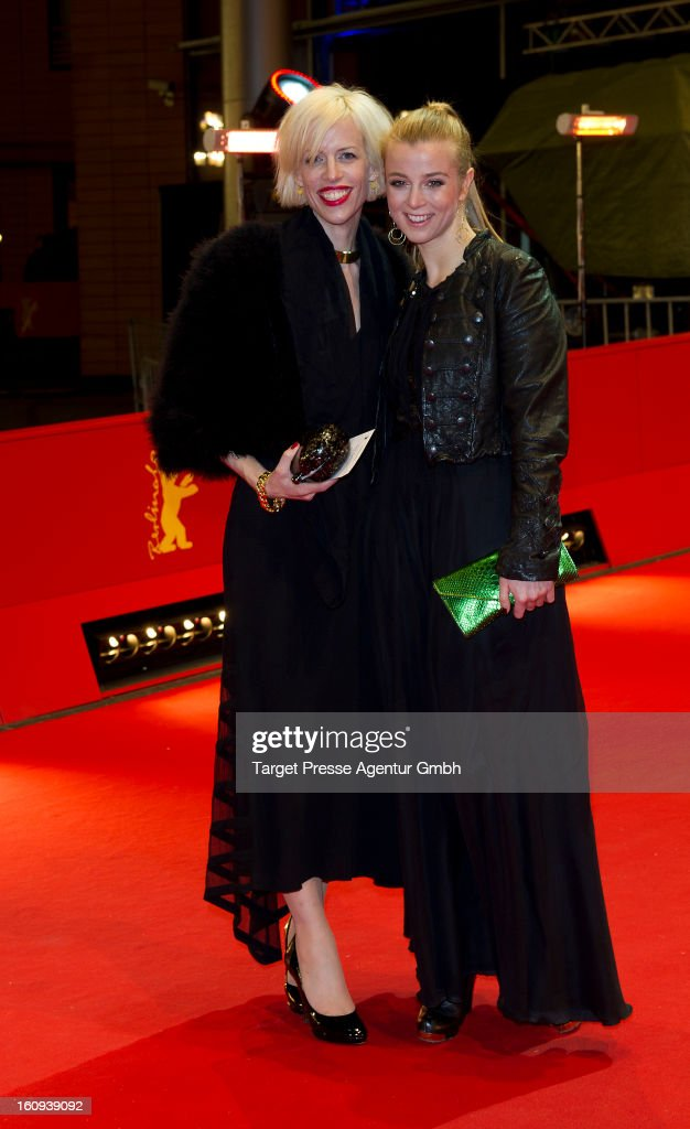 Katja Eichinger and her daughter Nina attend the premiere of 'The Grandmaster' during the 63rd Berlinale International Film Festival at the Berlinale...