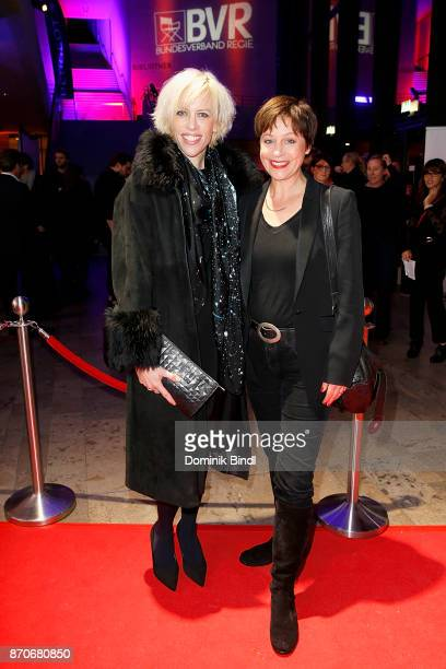 Katja Eichinger and Jule Ronstedt during the 7th German Director Award Metropolis at HFF Munich on November 5 2017 in Munich Germany