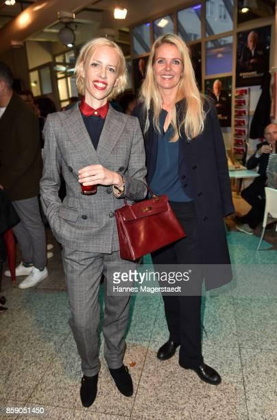 Katja Eichinger and Marieke Schroeder during the 'Schumanns Bargespraeche' Premiere at Arri Kino on October 8 2017 in Munich Germany