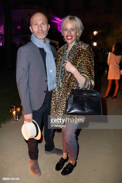 Katja Eichinger and Peter Eiff attends the 70th annual Cannes Film Festival on May 20 2017 in Cannes France
