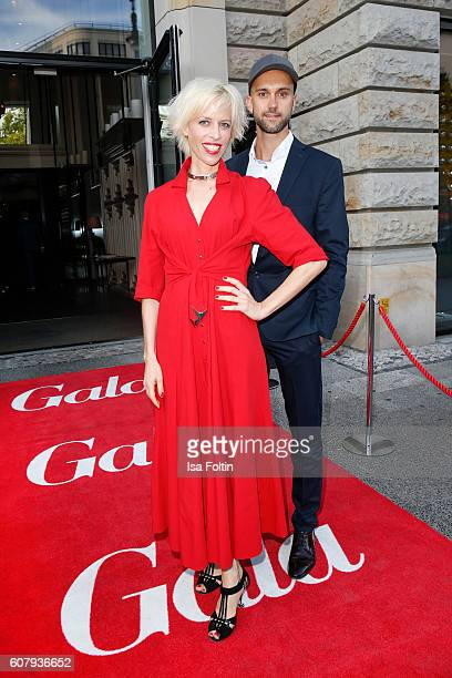 Katja Eichinger and producer Florian Gottschick attend the First Steps Awards 2016 at Stage Theater on September 19 2016 in Berlin Germany