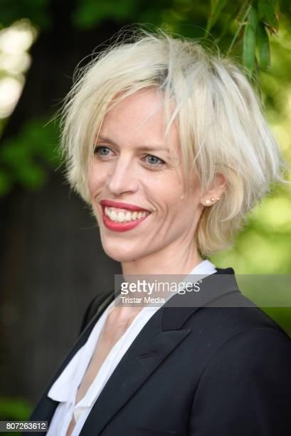 Katja Eichinger attends 'Mix It Ein filmpraktisches Projekt mit einheimischen und gefluechteten Jugendlichen' Premiere on July 3 2017 in Berlin...