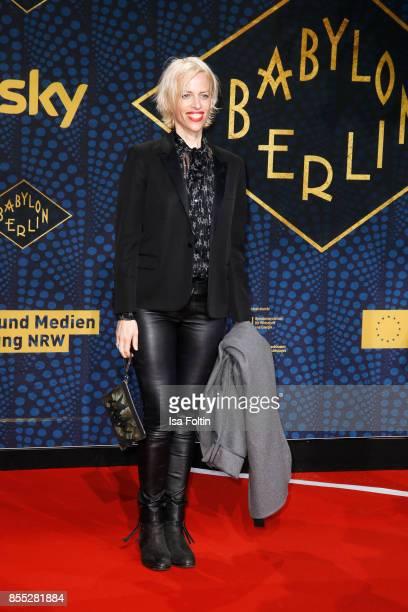 Katja Eichinger attends the 'Babylon Berlin' Premiere at Berlin Ensemble on September 28 2017 in Berlin Germany