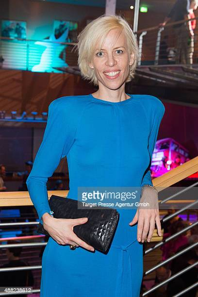Katja Eichinger attends the First Steps Awards 2015 after party at Stage Theater on September 14 2015 in Berlin Germany