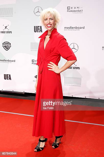 Katja Eichinger attends the First Steps Awards 2016 at Stage Theater on September 19 2016 in Berlin Germany