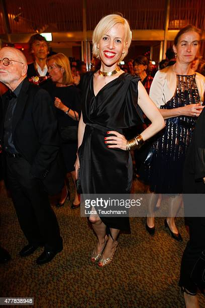 Katja Eichinger attends the German Film Award 2015 Lola party at Palais am Funkturm on June 19 2015 in Berlin Germany