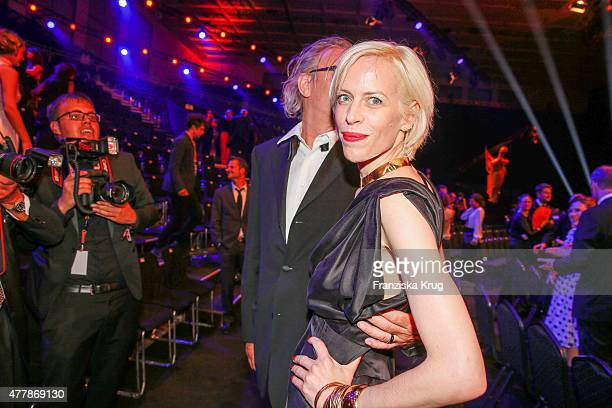 Katja Eichinger attends the German Film Award 2015 Lola show at Messe Berlin on June 19 2015 in Berlin Germany