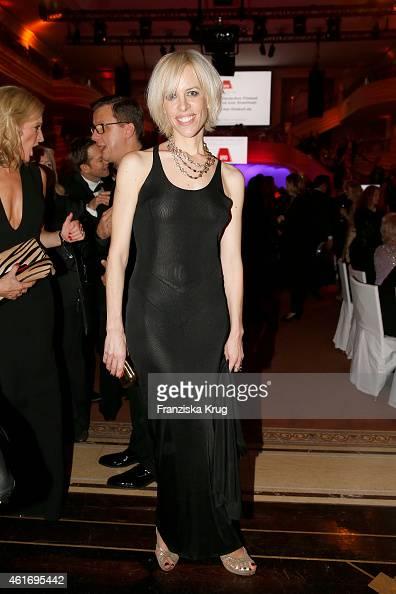 Katja Eichinger attends the German Film Ball 2015 on January 17 2015 in Munich Germany