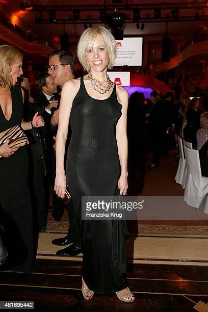 Katja Eichinger attends the German Film Ball 2015 on January 17 2015 in Munich Germany