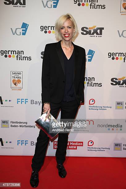 Katja Eichinger attends the German Films Reception At La Plage Majestic during the 68th annual Cannes Film Festival on May 16 2015 in Cannes France