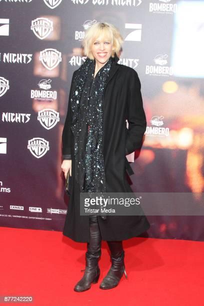 Katja Eichinger attends the German premiere 'Aus dem Nichts' on November 21 2017 in Hamburg Germany