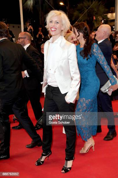Katja Eichinger attends the 'In The Fade ' screening during the 70th annual Cannes Film Festival at Palais des Festivals on May 26 2017 in Cannes...
