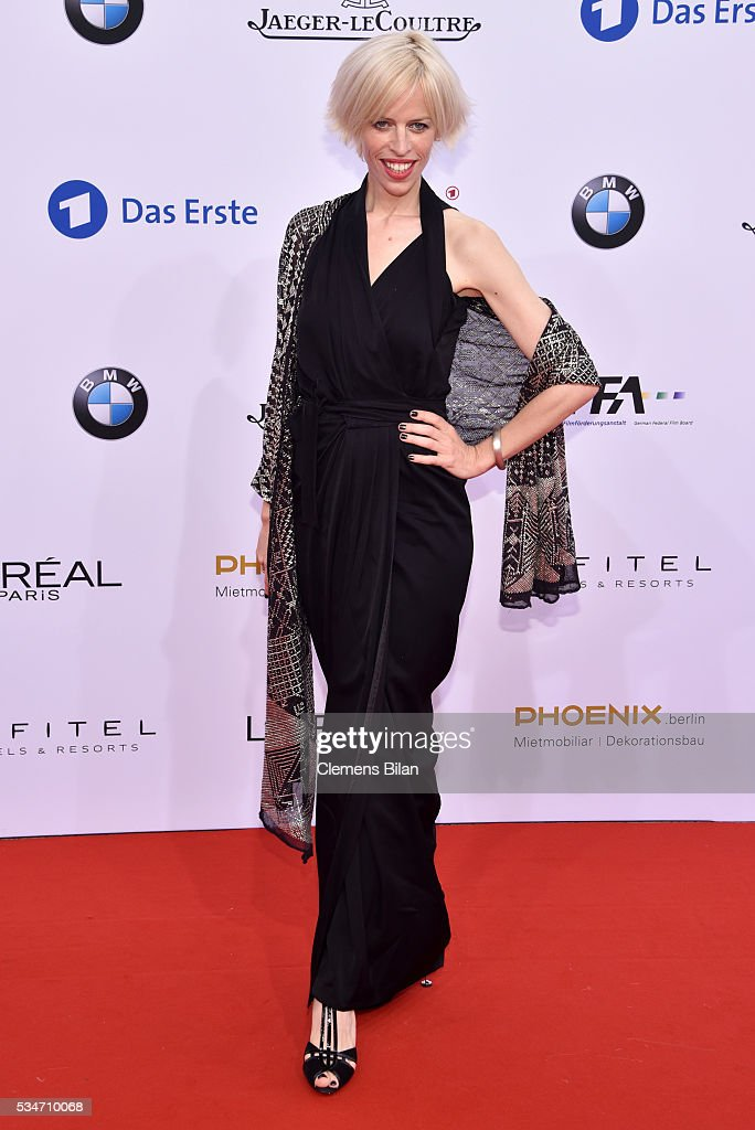 <a gi-track='captionPersonalityLinkClicked' href=/galleries/search?phrase=Katja+Eichinger&family=editorial&specificpeople=4148598 ng-click='$event.stopPropagation()'>Katja Eichinger</a> attends the Lola - German Film Award (Deutscher Filmpreis) on May 27, 2016 in Berlin, Germany.