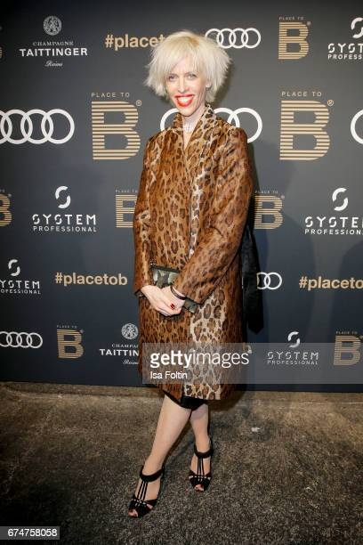 Katja Eichinger attends the Place To Be Party after the Lola German Film Award on April 28 2017 in Berlin Germany