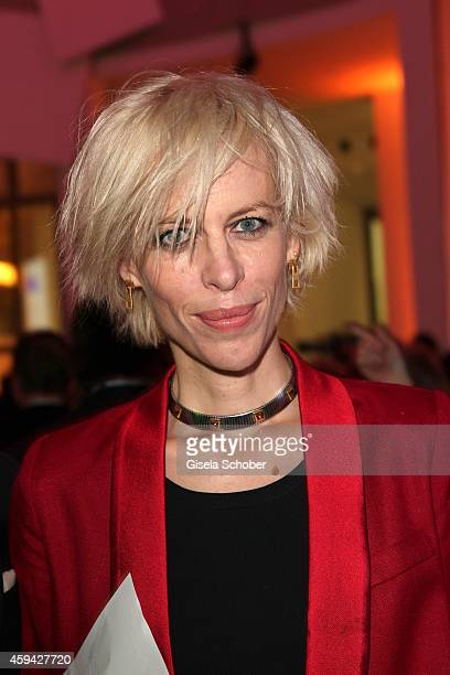 Katja Eichinger during the PIN Party 'Lets Party 4 Art' at Neue Pinakothek on November 22 2014 in Munich Germany