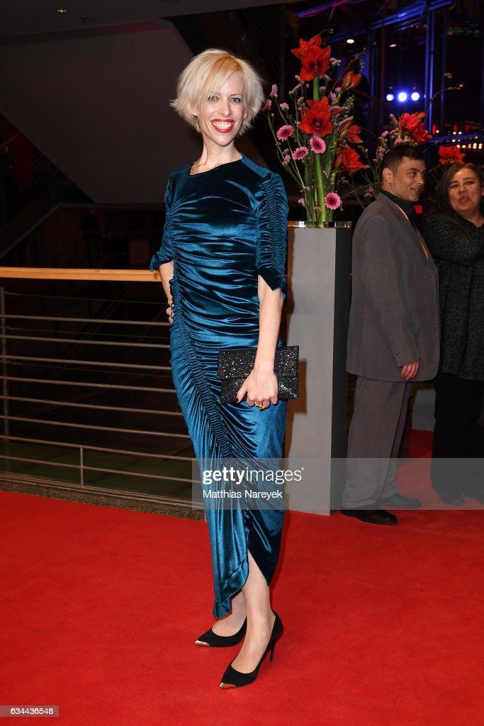 Katja Eichinger the 'Django' premiere during the 67th Berlinale International Film Festival Berlin at Berlinale Palace on February 9, 2017 in Berlin, Germany.