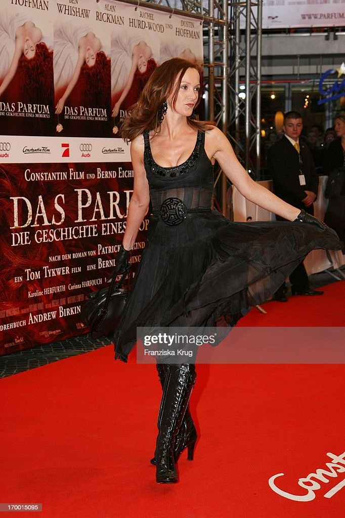 Katja Flint At The Premiere Of In 'Perfume' In Berlin Cinestar
