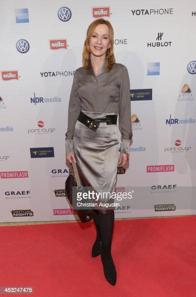 Katja Flint attends networking event 'Movie meets Media' at Hotel Atlantic on December 2 2013 in Hamburg Germany