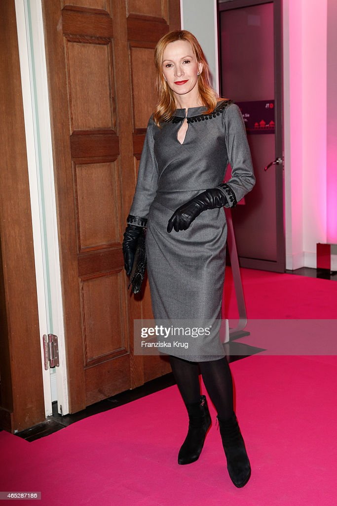 Katja Flint attends the JT Touristik Celebrates ITB Party on March 05 2015 in Berlin Germany