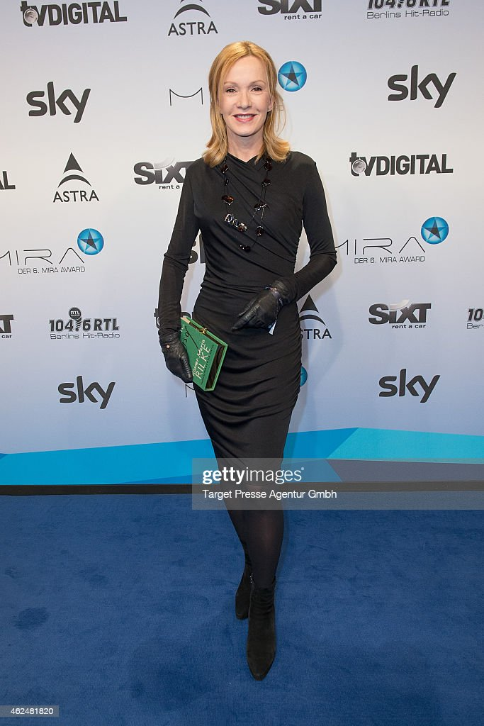 Katja Flint attends the Mira award 2015 at Station on January 29 2015 in Berlin Germany