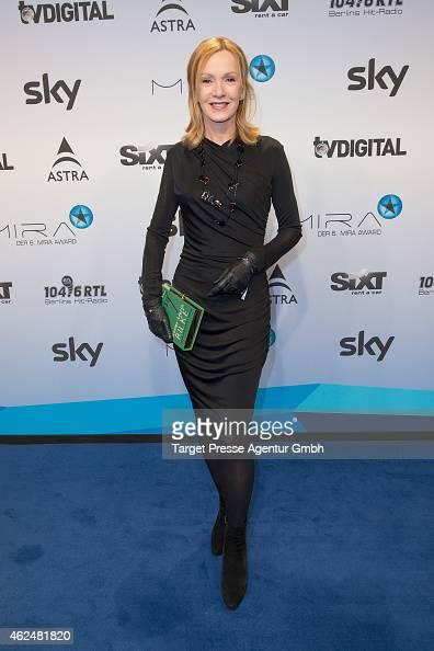 Katja Flint attends the Mira award 2015 at Station on January 29 2015 in Berlin Germany