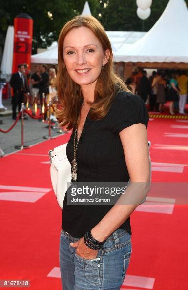 Katja Flint attends the 'Movie Meets Media' party at discoteque P1 on June 23 2008 in Munich Germany