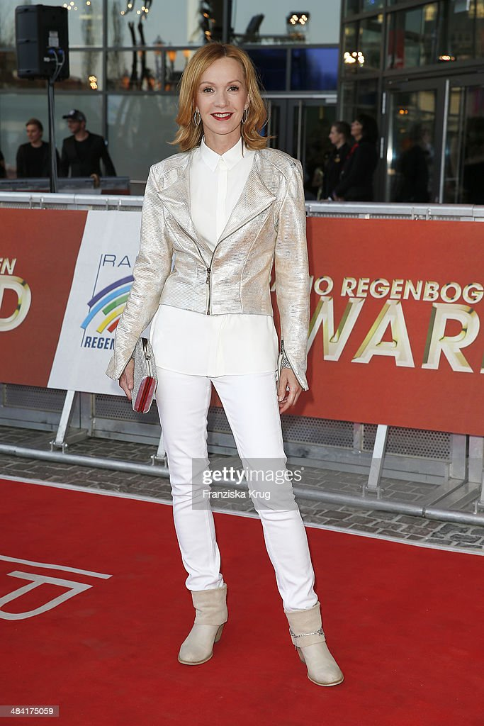Katja Flint attends the Radio Regenbogen Award 2014 on April 11 2014 in Rust Germany