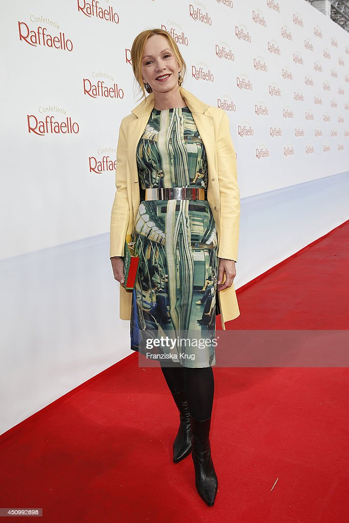 Katja Flint attends the Raffaello Summer Day 2014 on June 21 2014 in Berlin Germany