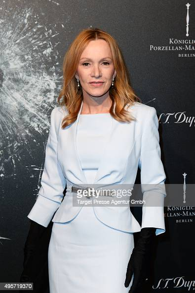 Katja Flint attends the SPECTRE by ST Dupont launch event on November 4 2015 in Berlin Germany