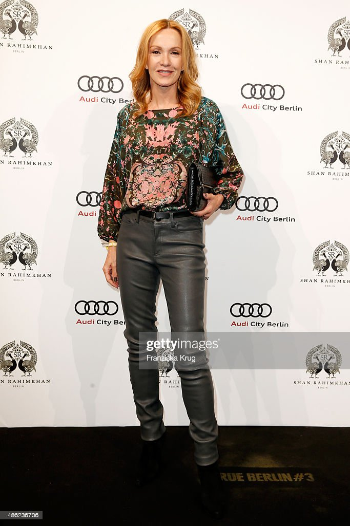 Katja Flint attends True Berlin by Shan Rahimkhan on September 2 2015 in Berlin Germany