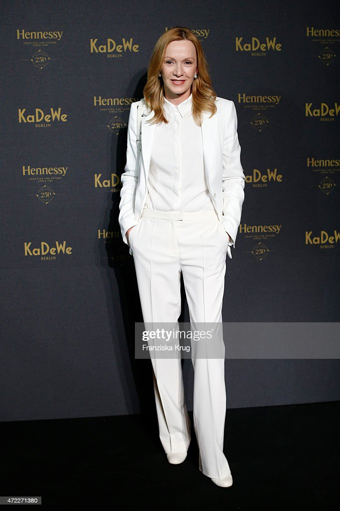 Katja Flint during the Hennessy 250th anniversary celebrations on May 5 2015 in Berlin Germany