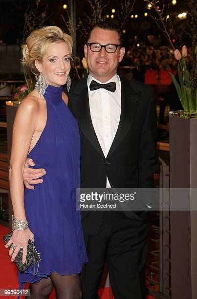 Katja Kessler and husband Kai Diekmann attend the 'Tuan Yuan' Premiere during day one of the 60th Berlin International Film Festival at the Berlinale...