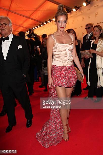 Katja Kessler arrives at the Bambi Awards 2014 on November 13 2014 in Berlin Germany