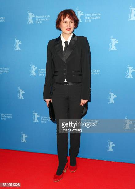 Katja Kipping attends the 'The Young Karl Marx' premiere during the 67th Berlinale International Film Festival Berlin at FriedrichstadtPalast on...
