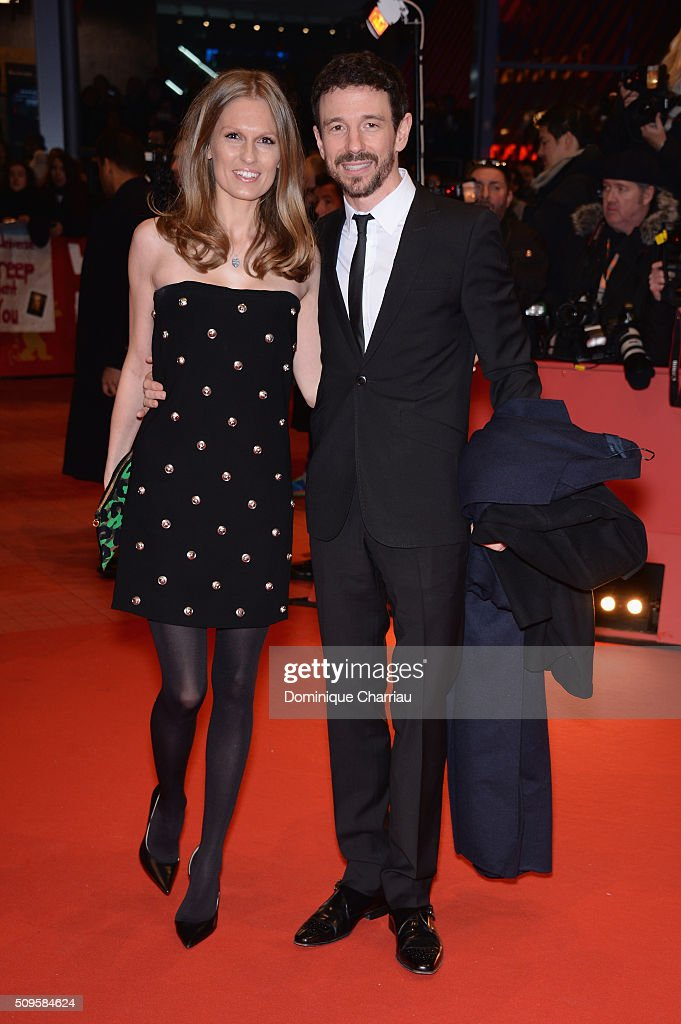Katja Kraus and Oliver Berben attend the 'Hail, Caesar!' premiere during the 66th Berlinale International Film Festival Berlin at Berlinale Palace on February 11, 2016 in Berlin, Germany.