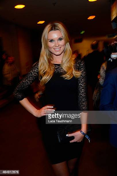 Katja Kuehne attends Holiday on Ice Platinum Show Premiere at Tempodrom on March 1 2015 in Berlin Germany