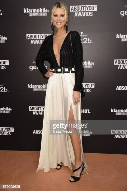 Katja Kuehne attends the About You Awards on May 4 2017 in Hamburg Germany