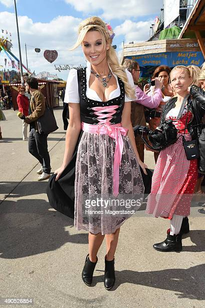 Katja Kuehne attends the Ladies Lunch at Fisch Baeda during the Oktoberfest 2015 at Theresienwiese on September 29 2015 in Munich Germany