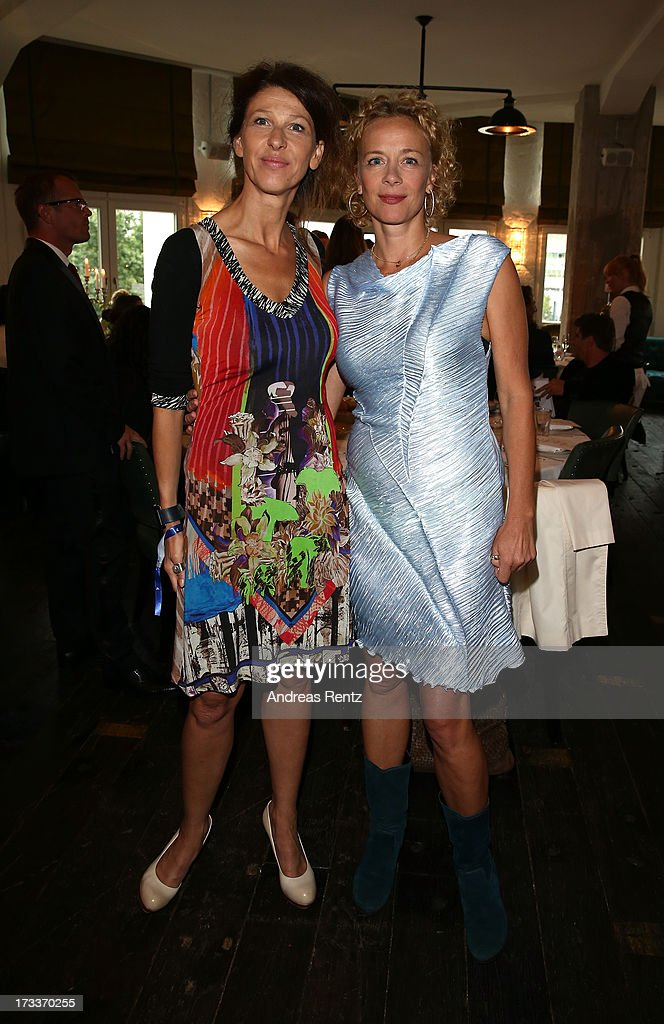 Katja Riemann attends the Cinema for Peace UN women charity dinner at Soho House on July 12, 2013 in Berlin, Germany.