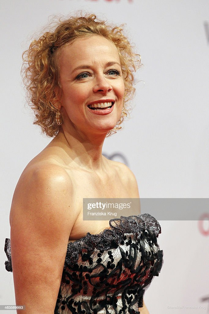 <a gi-track='captionPersonalityLinkClicked' href=/galleries/search?phrase=Katja+Riemann&family=editorial&specificpeople=220836 ng-click='$event.stopPropagation()'>Katja Riemann</a> attends the German Film Ball 2014 (Deutscher Filmball) on January 18, 2014 in Munich, Germany.