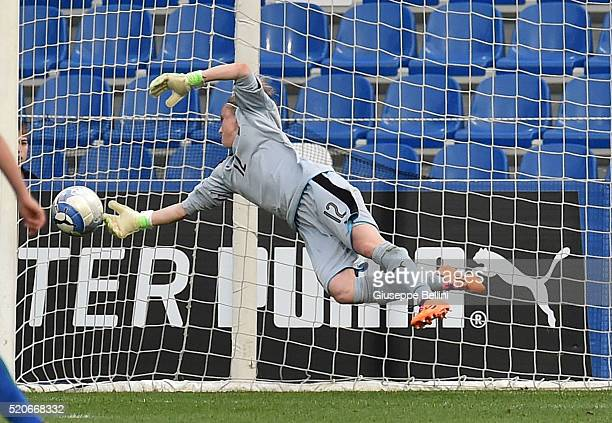 Katja Schroffenegger of Italy in action during the UEFA Women's Euro 2017 qualifier between Italy and Northern Ireland at Mapei Stadium Citta  del...